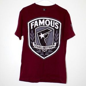 ☀️ Famous Stars and Straps Graphic Tee